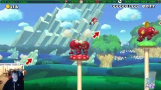Super Mario Maker - Speedrun Levels Montage #9