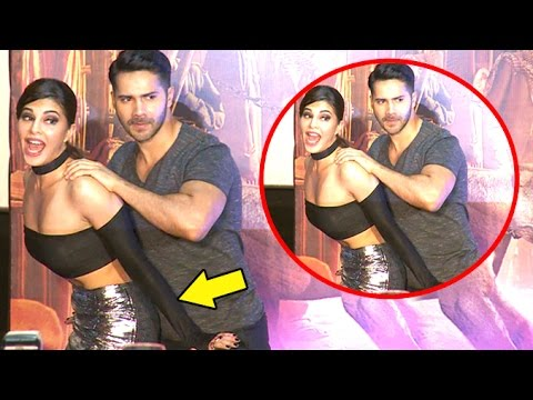 Xxx Mp4 Jacqueline Gets NAUGHTY With Varun Dhawan At Dishoom Trailer Launch 3gp Sex
