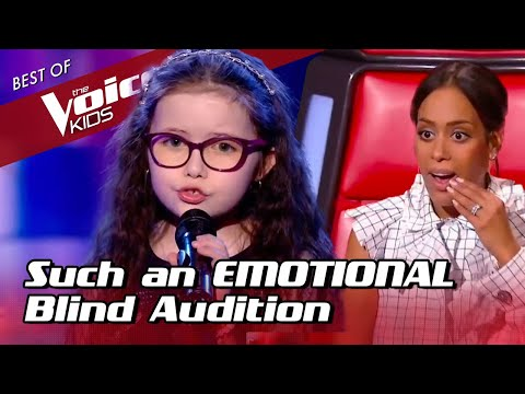 9-Year-Old makes the coaches CRY during her Blind Audition in The Voice Kids Video Clip