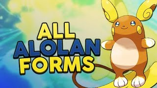 All Alola Forms in Pokémon Sun and Moon! - Woopsire