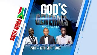 God's General in South Africa