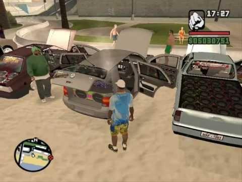 GTA Festa na Praia com os Amigos LOKO DMS