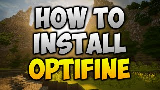Minecraft 1.11.2 - How To Install Optifine (WORKING MARCH 2017)