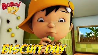 BoBoiBoy (English) S1E11 | World Biscuit Day