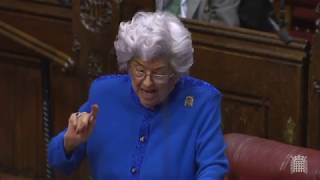 BREXIT ANGER - Baroness Boothroyd brands Corbyn a 'dithering leader' and Johnson a 'charlatan'