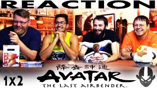 Avatar: The Last Airbender 1x2 REACTION!!