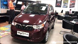 Mahindra e2oPlus P6 +me 2018   Real-life review