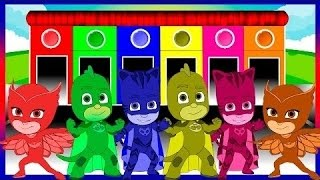 PJ Masks Colors for Children to Learn with PJ Masks - Learning Colors for Kids
