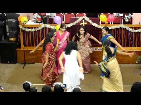 Santhosham Ponguthey-Tamil Adult Dance-Asian Fellowship=Gloucester2011
