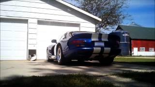 1997 Dodge Viper exhaust upgrade