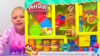 Huge Play Doh Chef Supreme Kitchen Set DIY Make Breakfast Lunch Dinner Snacks Desserts Waffles 4K