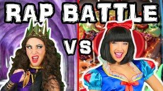 Princess Music Video Snow White vs Evil Queen Family Friendly. Disney Toys Fan.