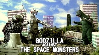 Godzilla Against The Space Monsters    FULL MOVIE (2016)