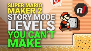 Super Mario Maker 2 Story Mode Has Levels You Can't Make Yourself | Nintendo Switch
