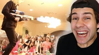 THIS STARTED A FIRE IN HIS HOUSE!! (SURPRISE)