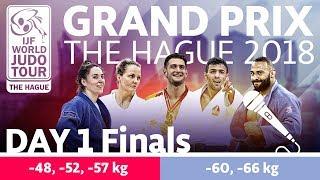 Judo Grand-Prix The Hague 2018: Day 1 - Final Block