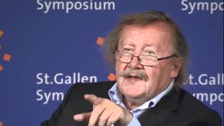 Max Schmidheiny Lecture with Prof. Dr Peter Sloterdijk - 42nd St. Gallen Symposium