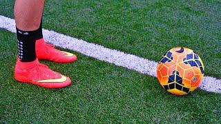 Juan Mata & Ronaldinho Incredible 1st Touch Tutorial - Control A Football Tutorial