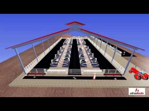 Proyecto para 130 vacas