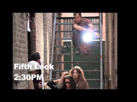 Ford Models studio fashion shoot