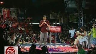 24 Oras: Tambalang Duterte-Cayetano, inilatag ang plataporma nila sa mga taga-Tondo