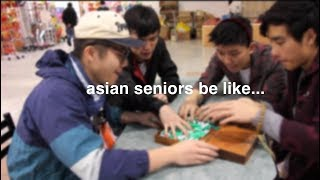 Old Asian People in Chinatown Be Like - Senior Asian Squad - 唐人區的老人家是這樣