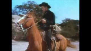 1952 Rose of Cimarron Burro Flats clip3 1hr9min ending scene falls off Corregidor Rock youtube