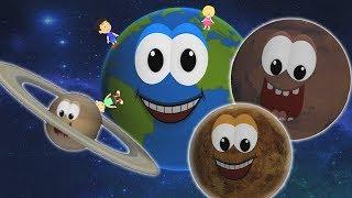 Planeten Lied | Planeten für Kinder | Kinder reimen | Planets Nursery Rhymes | Educational Songs