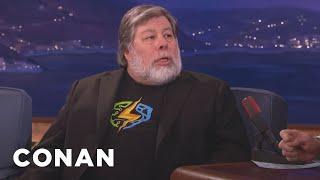 Steve Wozniak On Apple's Battle With The FBI  - CONAN on TBS