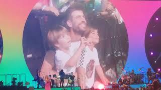 07.07.2018 Barcelona - Shakira, La bicicleta (HD)