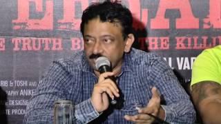 RGV's Veerappan press meet - idlebrain.com