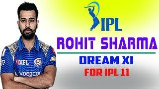 Rohit Sharma chosen his dream team for ipl 2018 | Rohit Sharma IPL Team