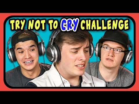 Download YOUTUBERS REACT TO TRY NOT TO CRY CHALLENGE