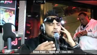 Sean Paul - Hold on - Live - C'Cauet sur NRJ