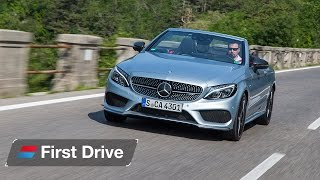 2016 Mercedes C-Class Cabriolet first drive review: A junior C 63 with four wheel drive?