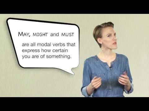 Everyday Grammar: May, Might, and Must