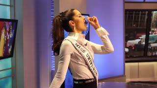 The Funny Miss Universe 2014 Paulina Vega From Colombia