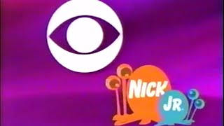 November 20, 2004 Nick Jr. on CBS (WIAT) Opening + Commercials