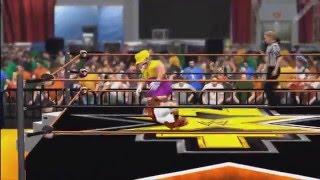 TMNXT Season 2 Episode 13 8/23/14 WWE2K14