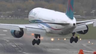 Aviones a punto de estrellarse