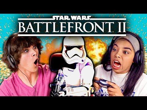 STAR WARS BATTLEFRONT 2 (React: Gaming)