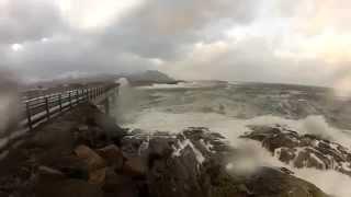 Beautiful but Dangerous Norway's Atlantic Ocean Road