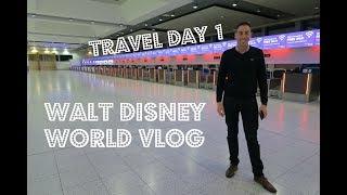 Walt Disney World & Florida Vlog   April 2017   Day 1 Travel Day
