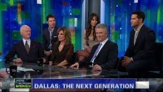 """The cast of the new """"Dallas"""""""