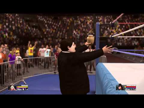 WWE 2K15 Ultimate Warrior vs The Undertaker July 1 1991
