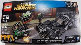 Lego Interceção De Kryptonita ou Kryptonite Interception Batman - Cod 76045