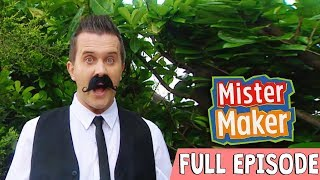 Whirling Salad Picture! | Episode 13 | FULL EPISODE | Mister Maker: Comes To Town