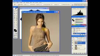 como cambiar una camisa con photoshop