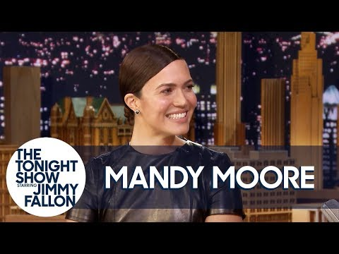 Mandy Moore's Tears Melt Her This Is Us Prosthetics Off Her Face