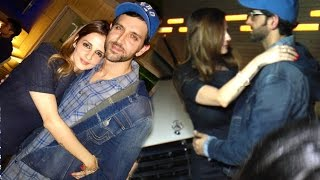 All Moments When Hrithik Is Seen Back With Ex Wife Suzanne After Divorce